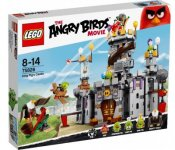 LEGO Skadad Ask Angry Birds Kung gris slott SK75826