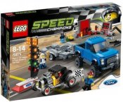 LEGO Speed Champions Ford F-150 Raptor och Ford Model A hotrod 75875