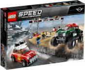 LEGO Speed 1967 Mini Cooper S Rally and 2018 MINI John Cooper Works Buggy 75894