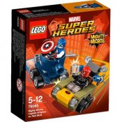 LEGO Super Heroes Captain America mot Red Skull 76065