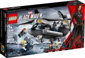 LEGO Super Heroes Black Widows helikopterjakt 76162