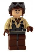 Minifigurer Star Wars Naboo pilot 76543