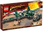 LEGO Skadad ask Indiana Jones Slagsmål på Flying Wing SK7683