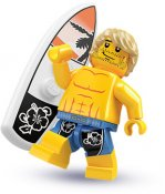 Minifigurer Cool Surfare 868415