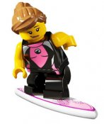 Minifigurer Cool Surftjej 880417