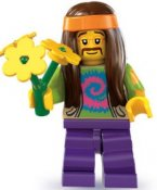 Minifigurer Hippie 88311