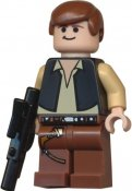 Minifigurer Star Wars Han Solo limited 8979