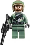 Minifigurer Rebel Commando Leader limited 8986