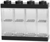 LEGO Minifigure Display Case 8 Svart 40650003