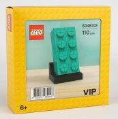 LEGO Buildable 2 x 4 Dark Turquoise Brick 6346102