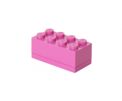 LEGO Förvaring Mini 8 Medium Rosa 40121739