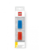 LEGO STATIONERY Sharpener, 2 pcs, RED &BLUE 51496