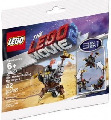 LEGO The Movie 2 Mini Master-Building MetalBeard 30528