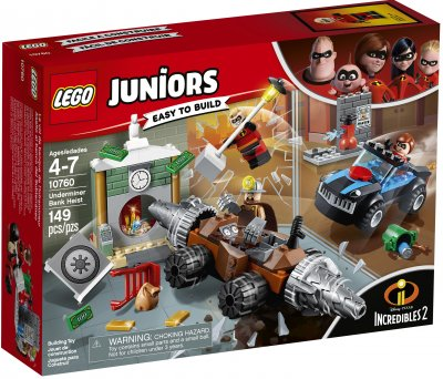 LEGO Juniors Underminers Bank Heist 10760