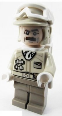 Minifigurer Hoth Rebel Trooper 9040