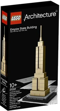 Exklusivt LEGO Architecture Empire State Building 21002