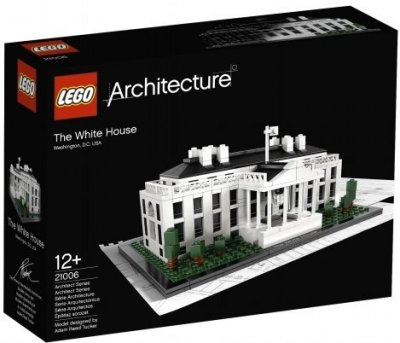 Exklusivt LEGO Architecture The White House 21006