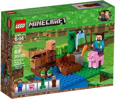 LEGO Minecraft The Melon Farm 21138