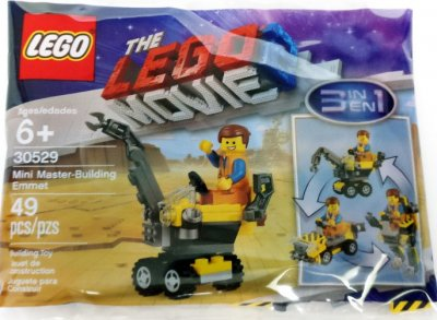LEGO Movie 2 Mini Master-Building Emmet 30529