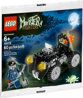 Monster Fighters specialpåse Zombie Car 40076
