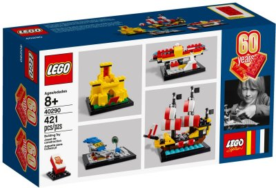 LEGO 60 Years of the LEGO Brick 40290