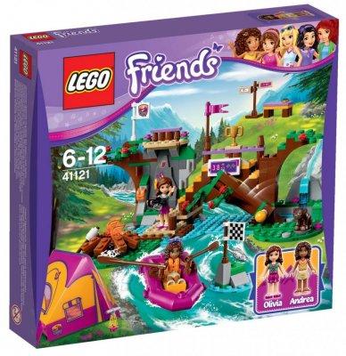 Uvanlig LEGO Friends Äventyrslägret forsränning 41121 - LEGO Friends KW-53