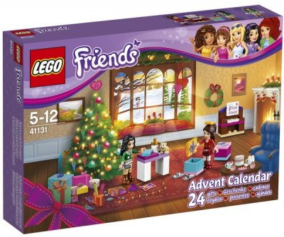 Weihnachtskalender Lego Friends.Lego Friends Adventskalender 2016 41131