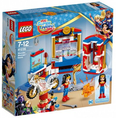 LEGO Super Hero Girls Wonder Woman sovrum 41235