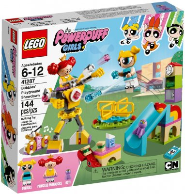 LEGO Powerpuff Girls Bubbles Playground Showdown 41287