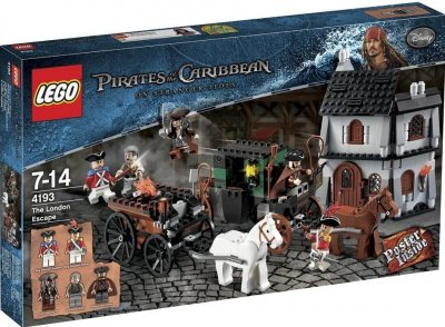 Pirates Flykten från London 4193