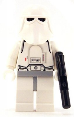 Minifigurer Star Wars Snow Trooper limited 9003
