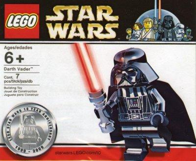 LEGO Promotional Chrome Darth Vader limited 4547551 - LEGO Exklusivt ... f001164efe172