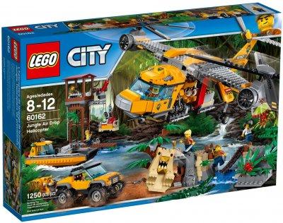 5b1151ee5951 LEGO City Jungle Air Drop Helicopter 60162 - *LEGO NYHETER* - Ebrix.se