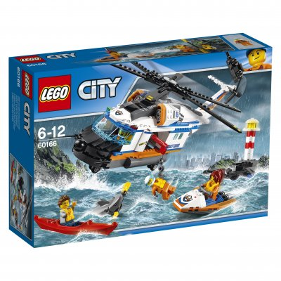 LEGO City Tung räddningshelikopter 60166