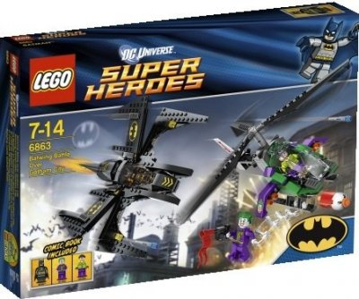 Super Heroes Batwing Battle Over Gotham City 6863