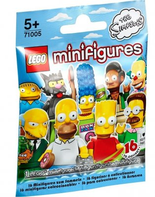 Minifigurer Hemlig påse The Simpsons 2014 71005