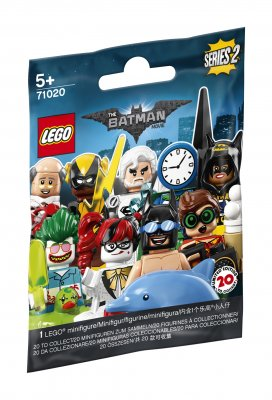 LEGO Minifigurer Serie 2 Batman movie 71020
