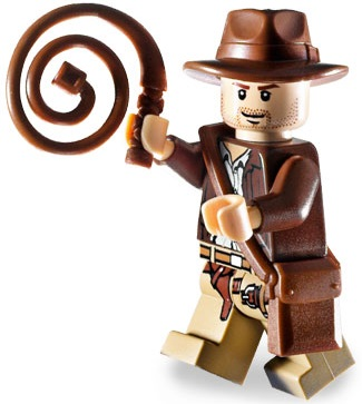 Minifigurer Indiana Jones 9300