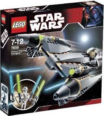 STAR WARS General Grievous Starfighter Limited 7656