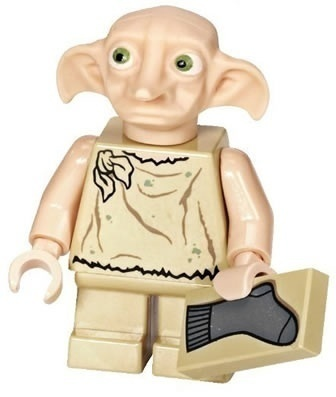 Minifigurer Harry Potter Dobby 77003