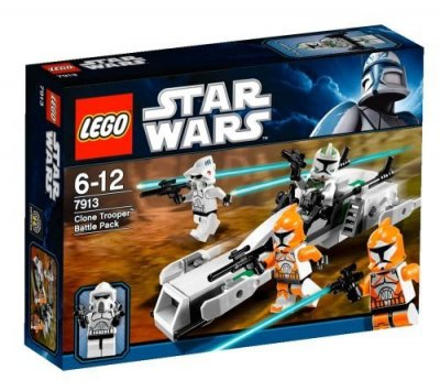 STAR WARS Clone Trooper Battle Pack 7913