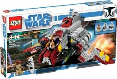 STAR WARS Republic Attack Shuttle 8019