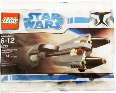 STAR WARS specialpåse General Grievous' Starfighter 8033