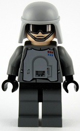 Minifigurer Imperial officer special 8991