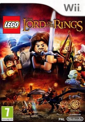 LEGO Lord Of The Rings Nitendo Wii 49515