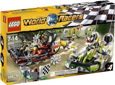 LEGO World Racers Krokodilträsket 8899