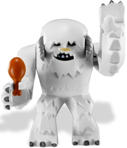 Minifigurer Wampa Cave Monster 8984
