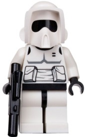 Minifigurer Scout Trooper limited 8985