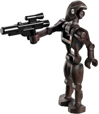 Minifigurer Hi tech Commando Droid 8995