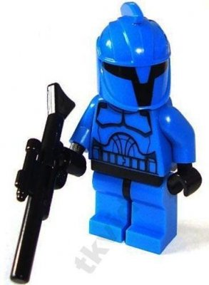 Minifigurer Senate Commando 9006